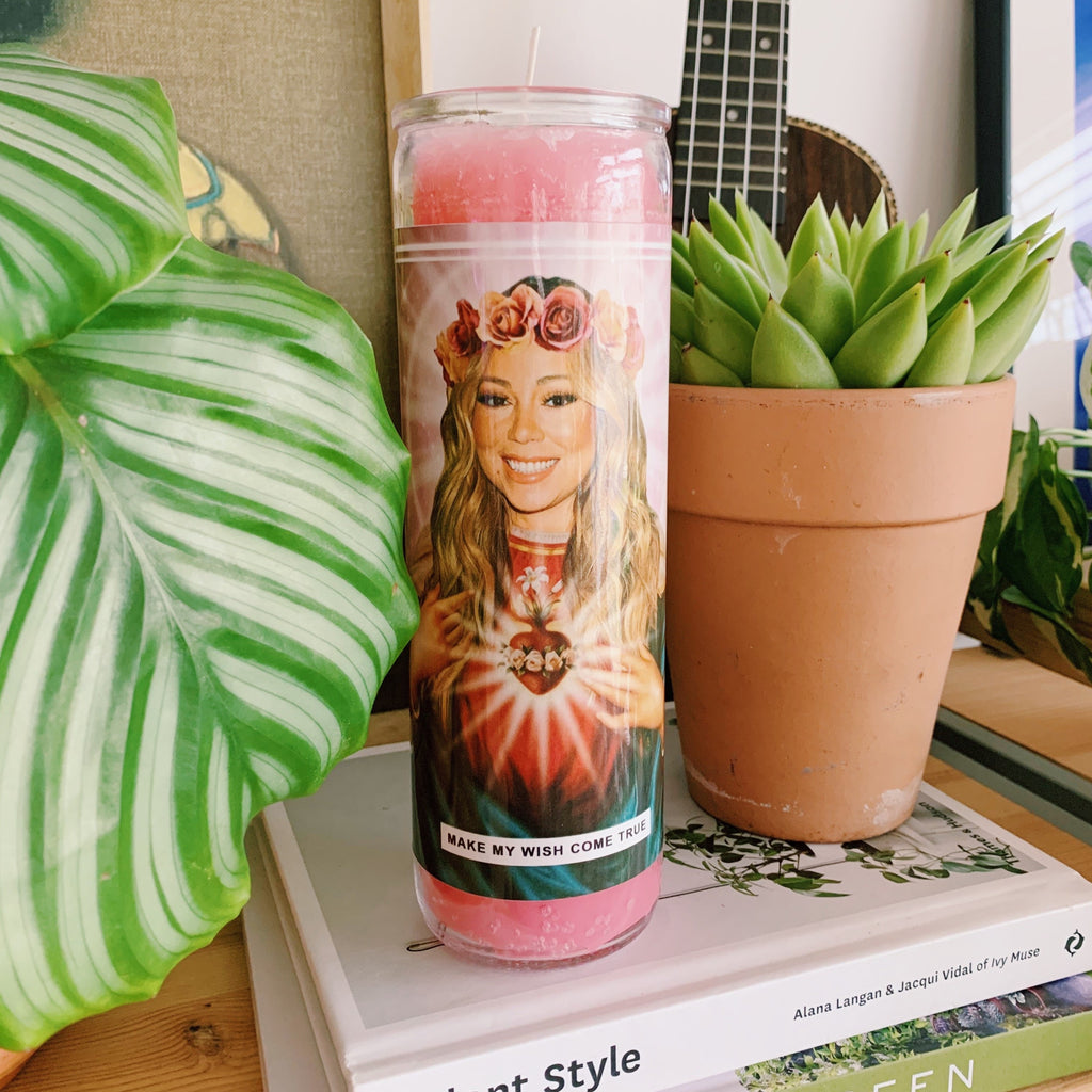 Saint Mariah Carey Prayer Candle
