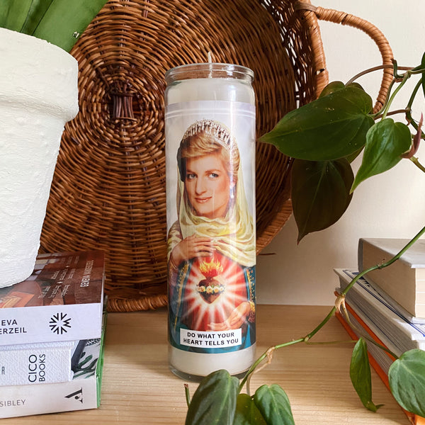 Saint Diana Princess Of Wales Prayer Candle