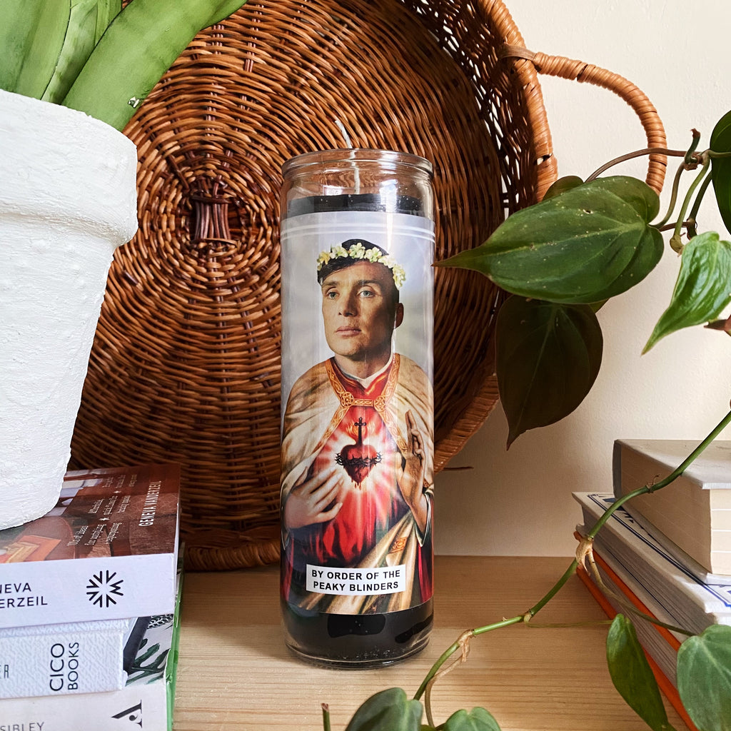 Saint Cillian Murphy | Peaky Blinders | Thomas Shelby Prayer Candle