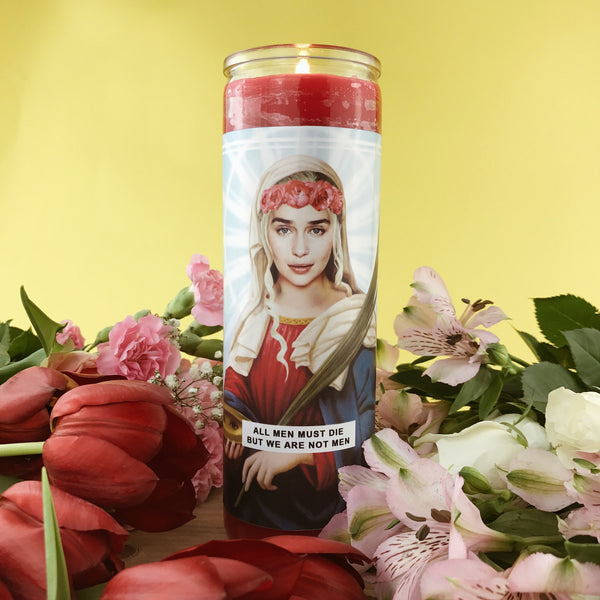 Saint Daenerys Prayer Candle