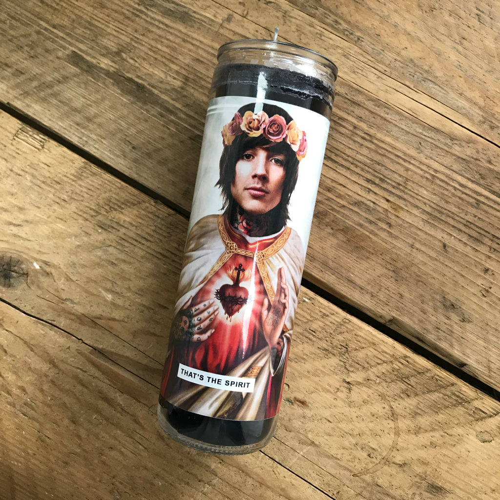 Saint Oli Sykes | Bring Me The Horizon Prayer Candle