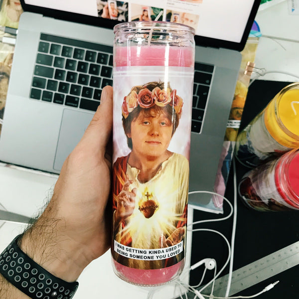 Saint Lewis Capaldi Prayer Candle