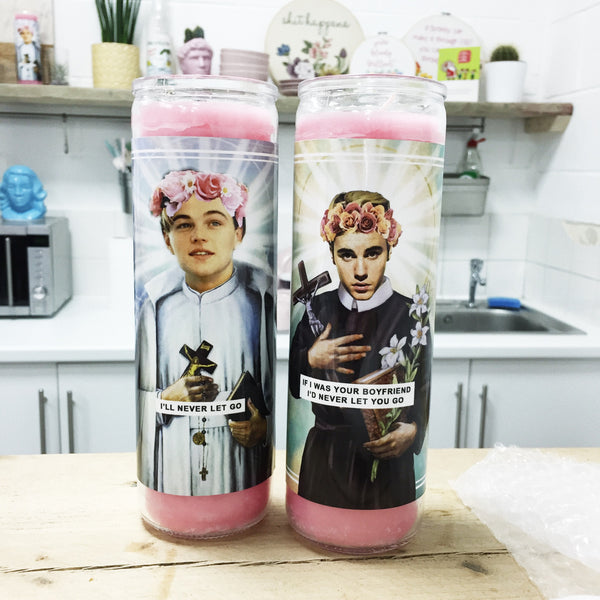 Saint Bieber Prayer Candle