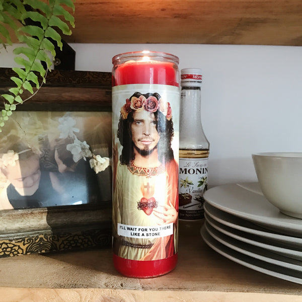 Saint Chris Prayer Candle