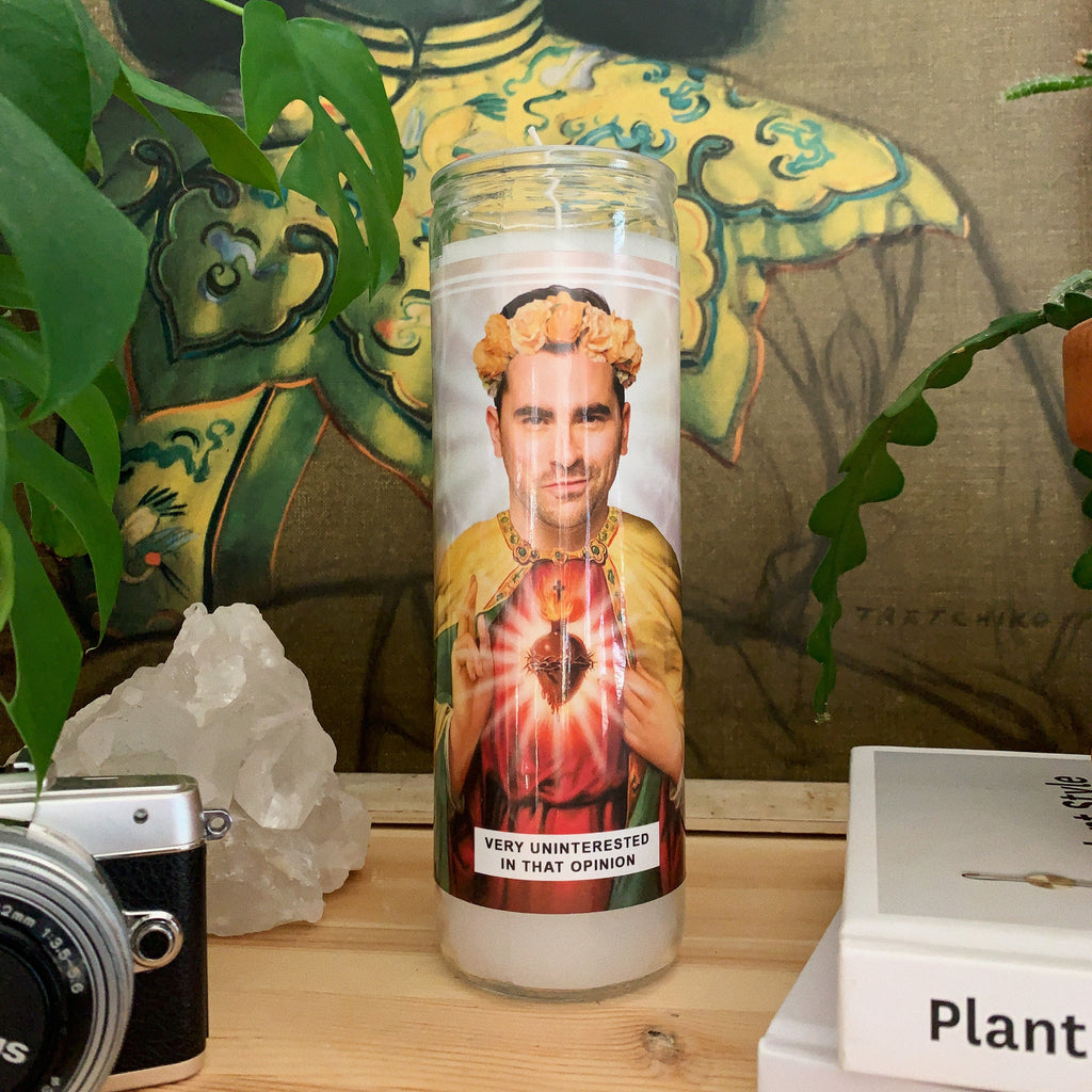Saint David Rose | Daniel Levy | Schitt's Creek Prayer Candle