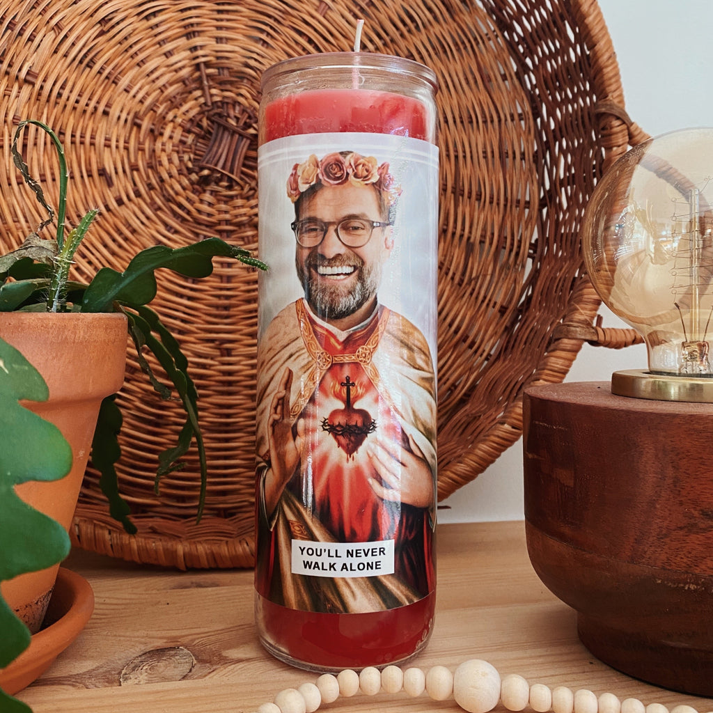 Saint Jurgen Klopp | Liverpool LFC Prayer Candle