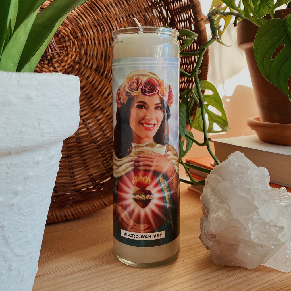 Saint Nigella Lawson Prayer Candle