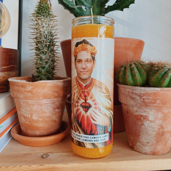 Saint Paul Rudd Prayer Candle
