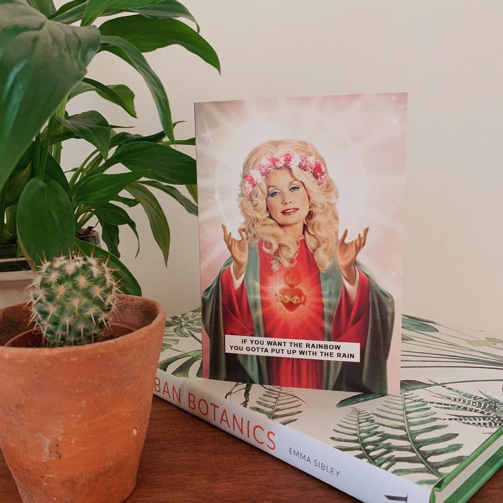 Saint Dolly Parton Greetings Card