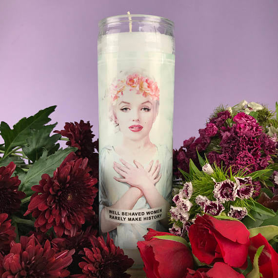 Saint Marilyn Prayer Candle