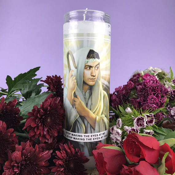 Saint Alex Turner | Arctic Monkeys Prayer Candle