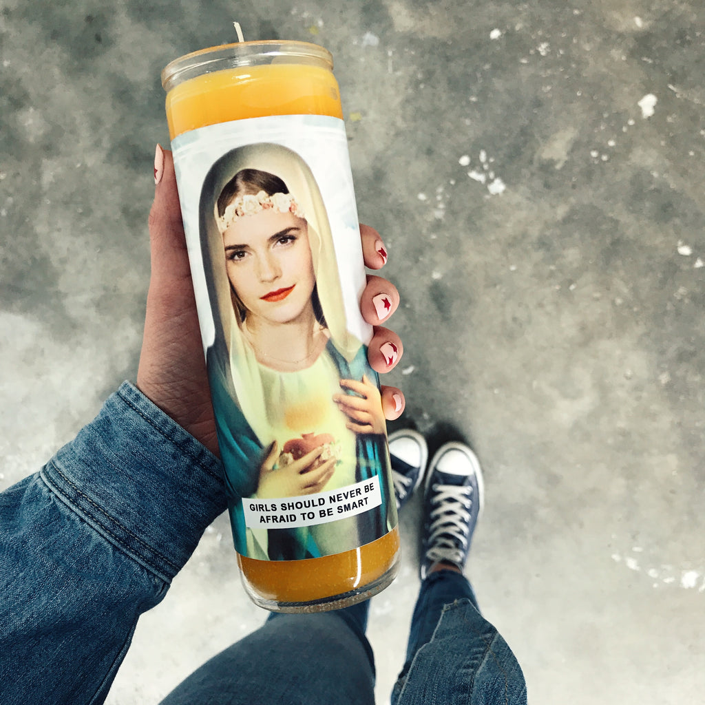Saint Emma Prayer Candle