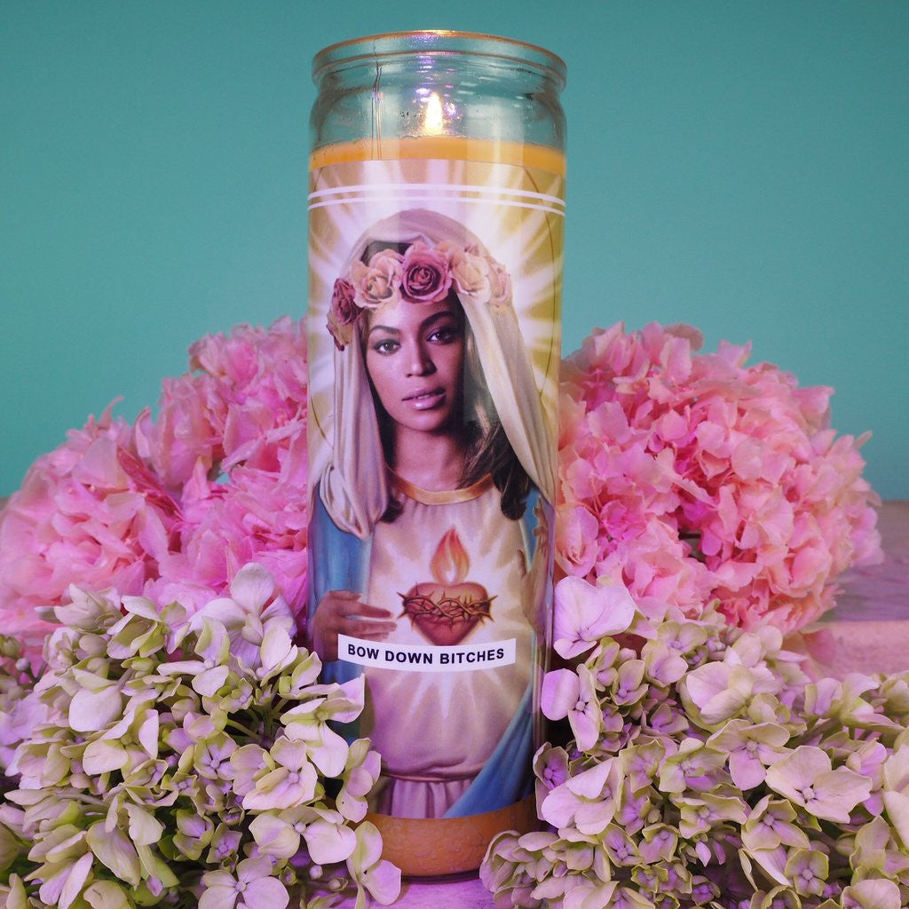 Saint Beyonce Prayer Candle