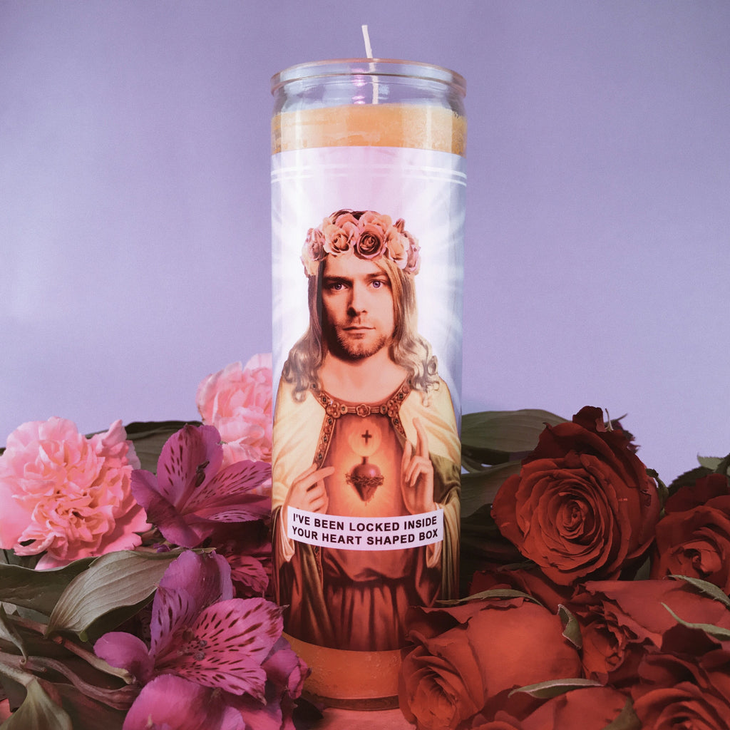Saint Kurt Prayer Candle