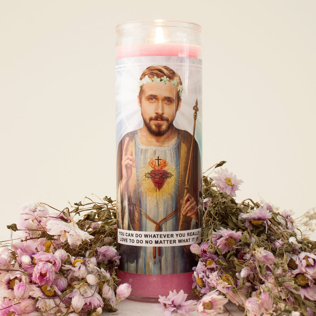 Saint Ryan Prayer Candle