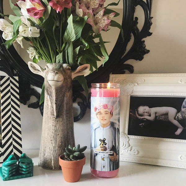 Saint Leo Prayer Candle