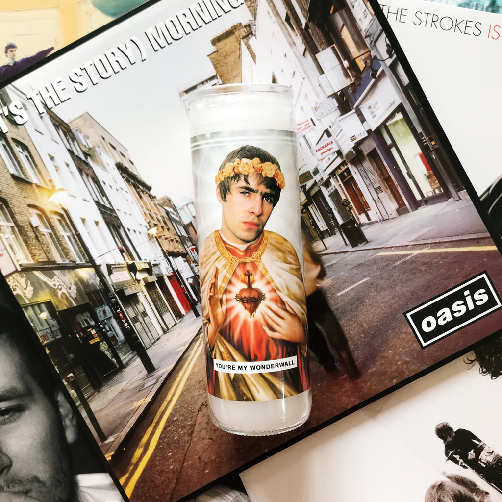 Saint Liam Gallagher | Oasis Prayer Candle