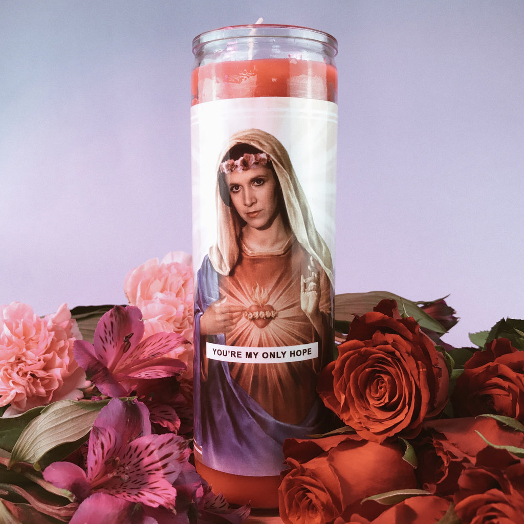 Saint Leia Prayer Candle