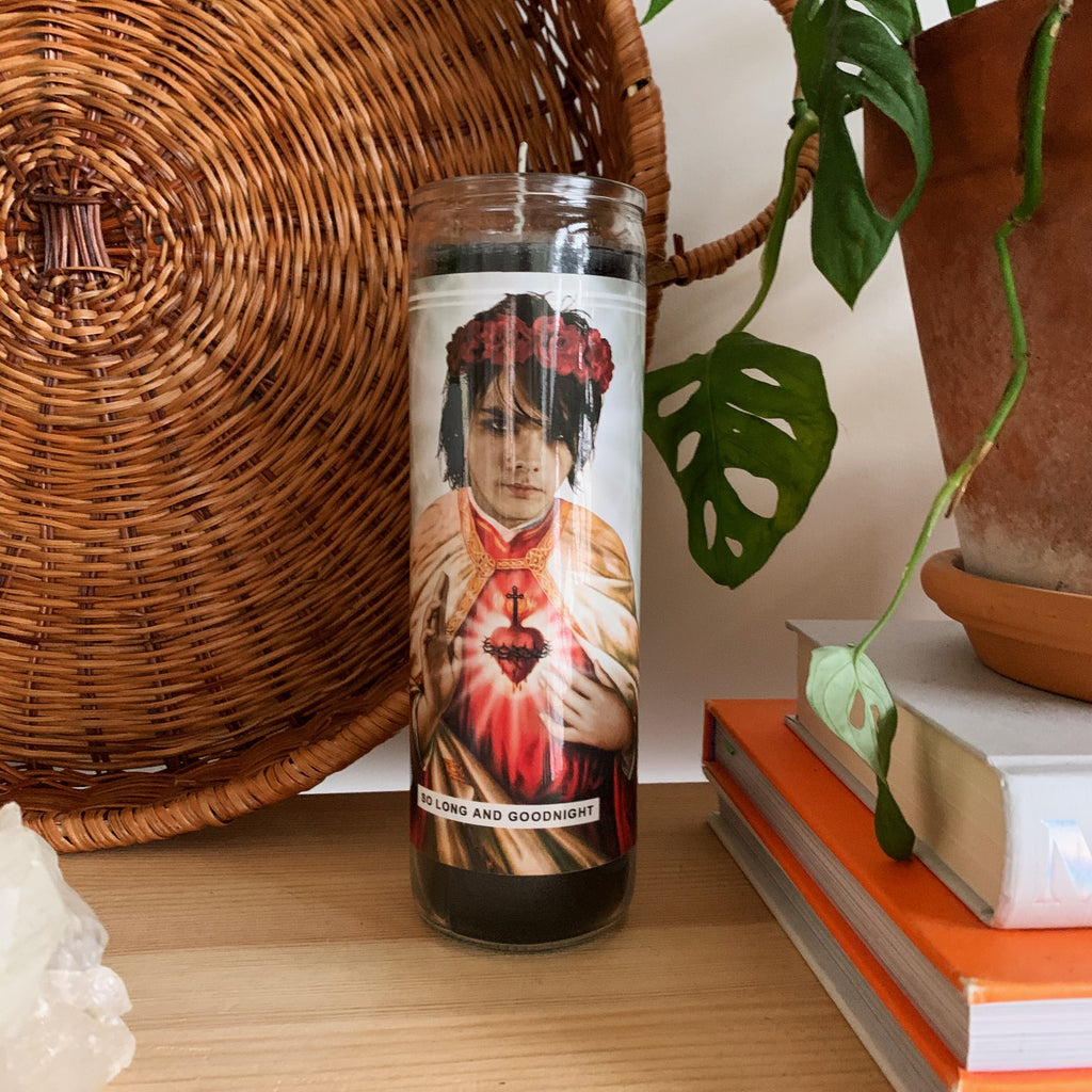 Saint Gerard Way | My Chemical Romance Prayer Candle