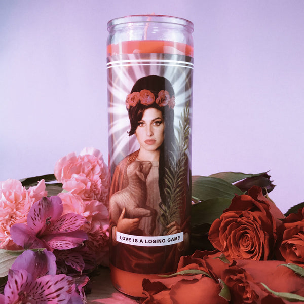 Saint Amy Prayer Candle