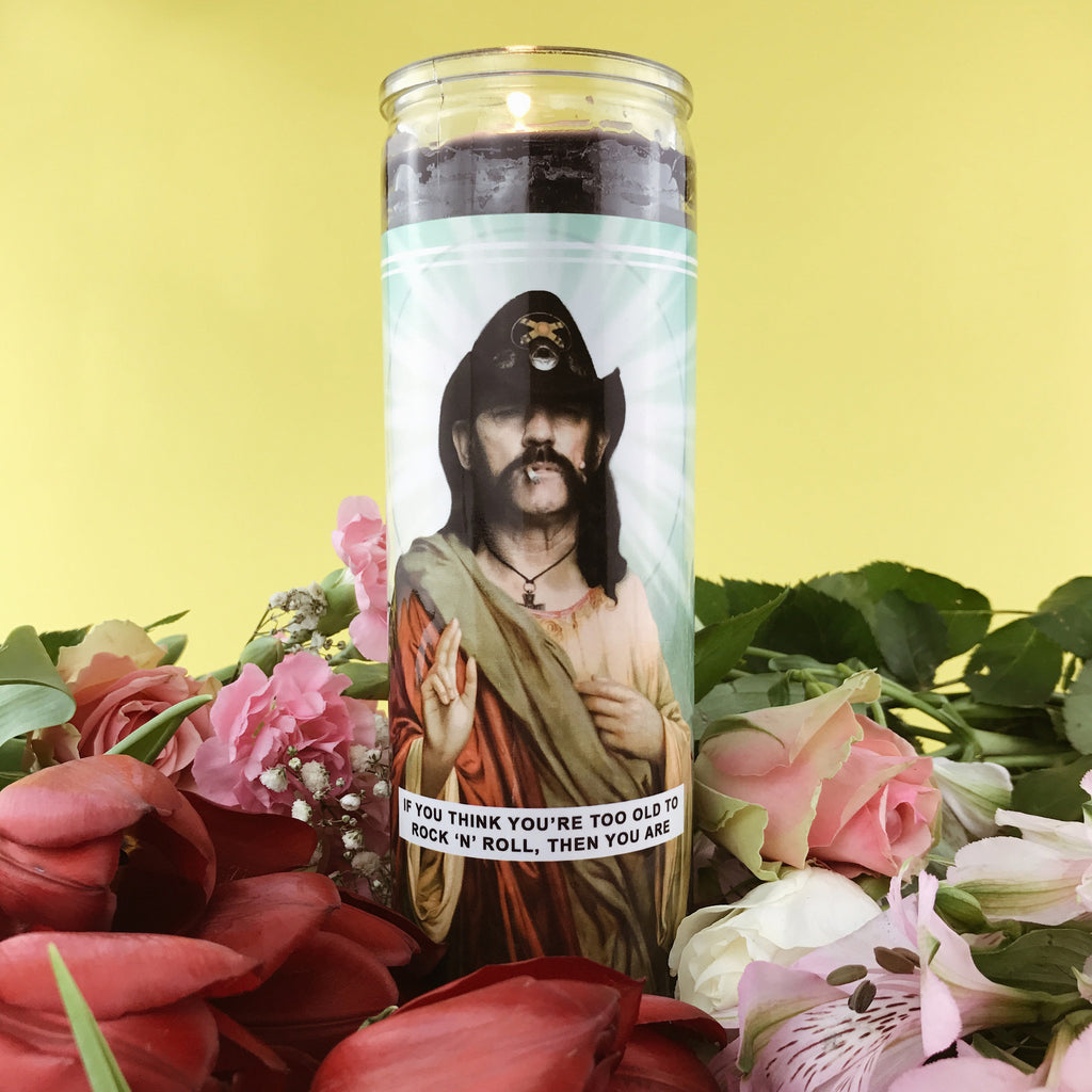 Saint Lemmy Prayer Candle