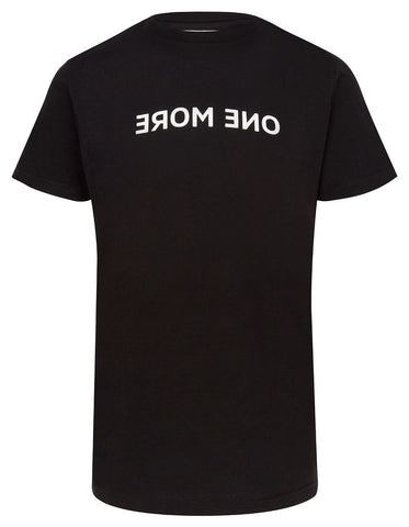 SIMPLY GYM 'ONE MORE' MENS MIRROR PRINT T SHIRT