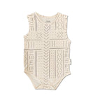 Mud cloth Singlet Onesie