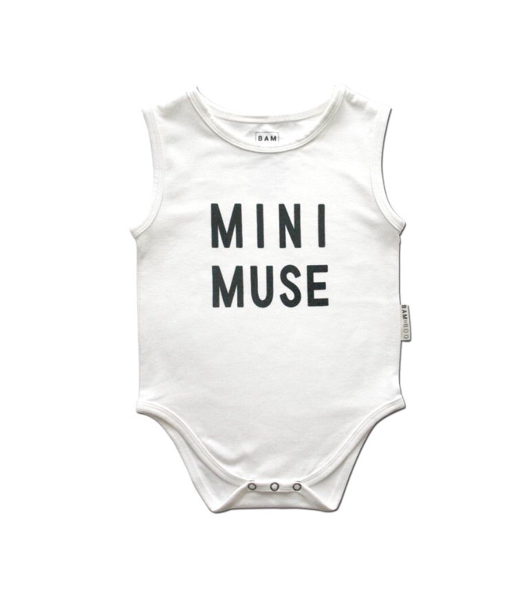 Mini Muse Singlet Onesie