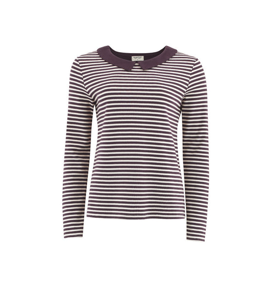 LONGSLEEVE - STRIPED WITH COLLAR