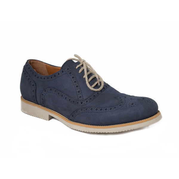 Urban blue low cut vegan shoes