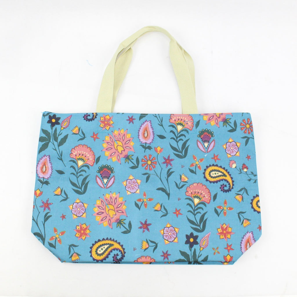 Folk Flower Maxi Bag