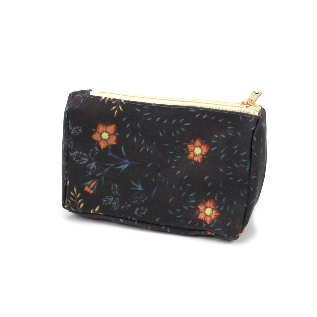 Tudor Rose Make Up Bag Teal