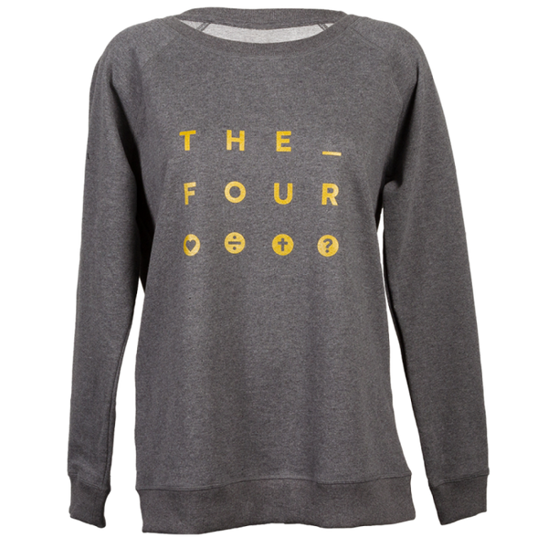 "THE FOUR Pullover ""Underline"" Femme"