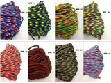5m Paracord 7 Core Strand Nylon - 7 pack - Ozzy Outdoors