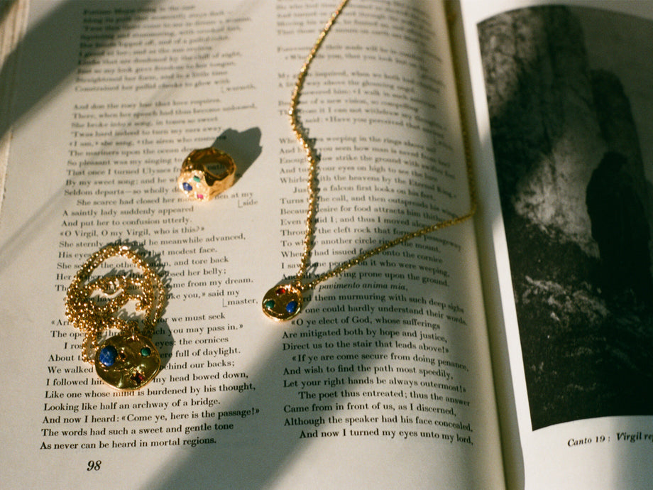 Pre-Order // The Stones of Light Necklace // Chapter ii
