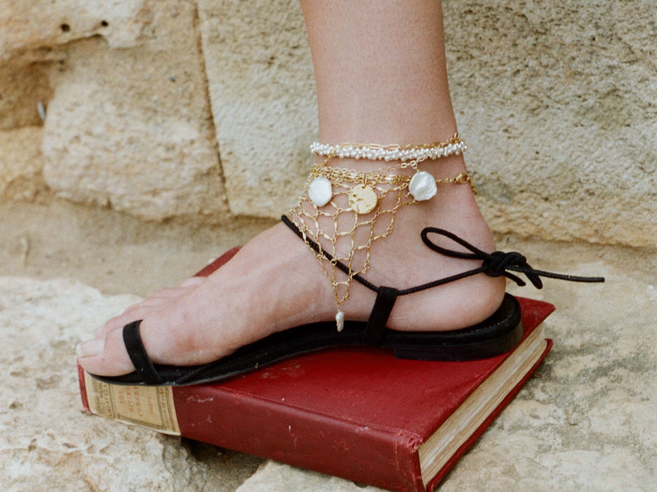 The Woven Tapestry Anklet