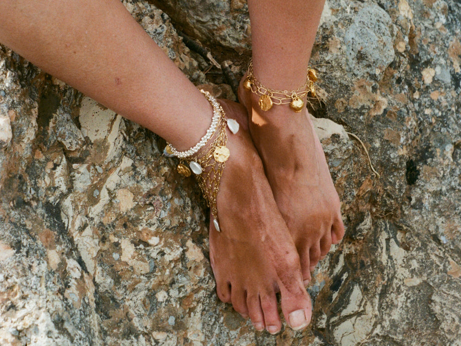 The Light Catcher Anklet