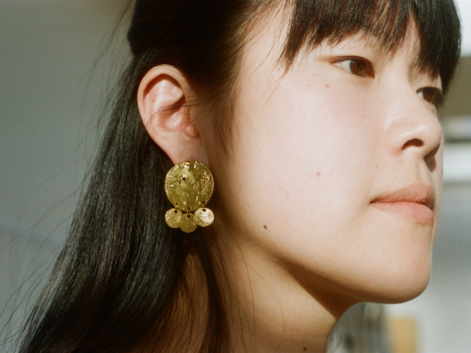 The Baby Lion Earrings