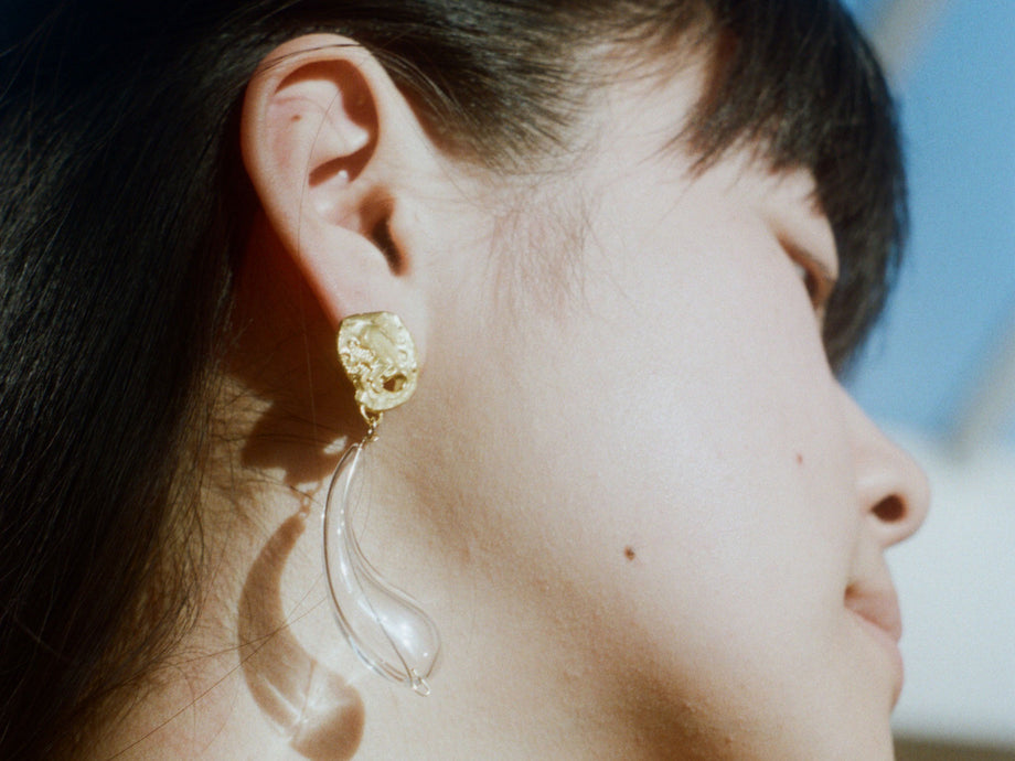 The Distant Tear Earrings