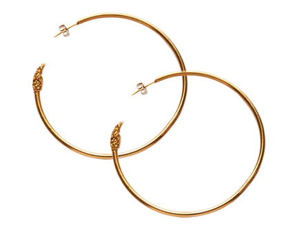 Il Leone Hoop Earrings