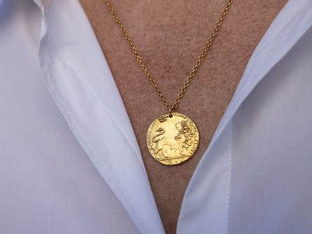 Il Leone Medallion // Ready for Battle