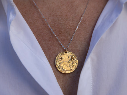 Il Leone Medallion // in the Dawn
