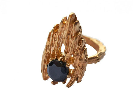 L'Inferno Ring | Black Onyx
