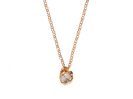 The Gilded Orbit of Jupiter Necklace