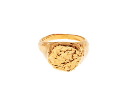 The Pisces Signet Ring