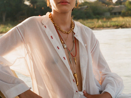 The Fragments of Cadaques Necklace