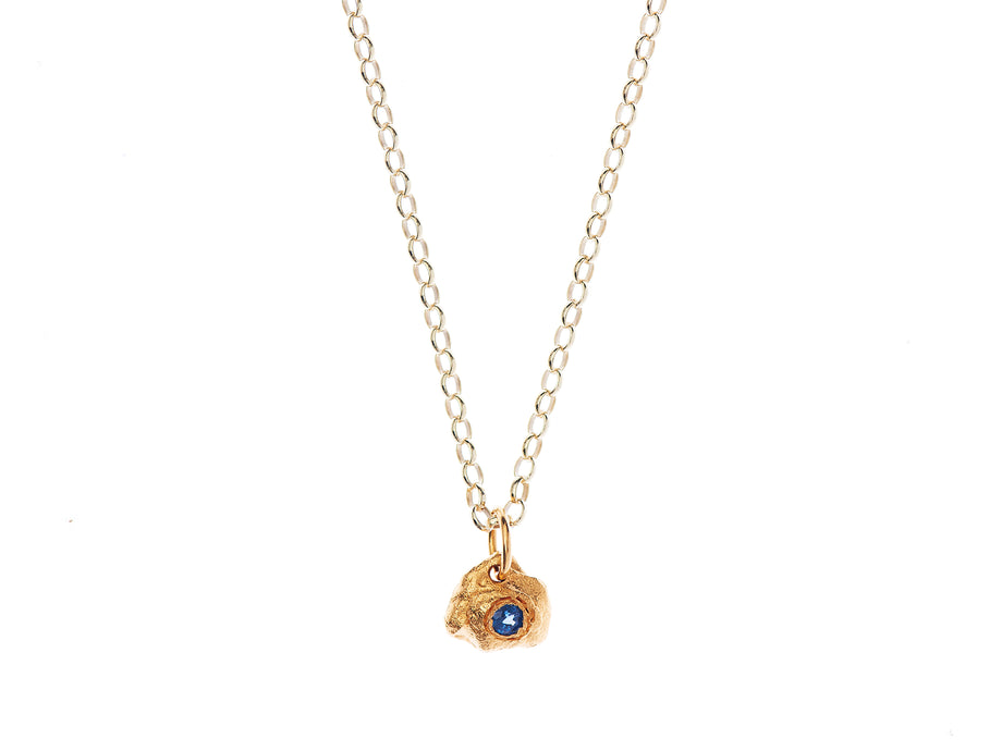 Pre-Order // A Flash of Lightning Necklace // Sapphire