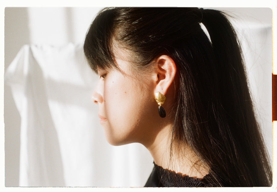 Shadow of a Woman Earrings