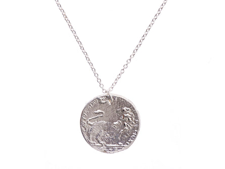 Medium Snow Lion Necklace