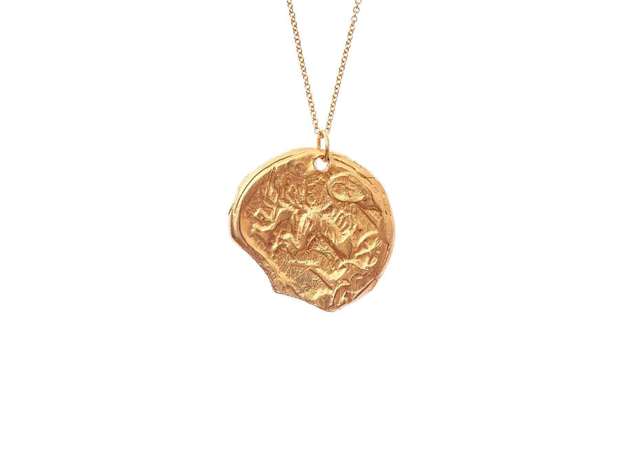 The Kindred Souls Medallion Necklace